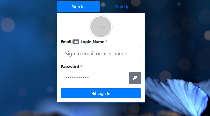 Sign Up & Sign In forms in Bootstrap 4 with PHP, MySql