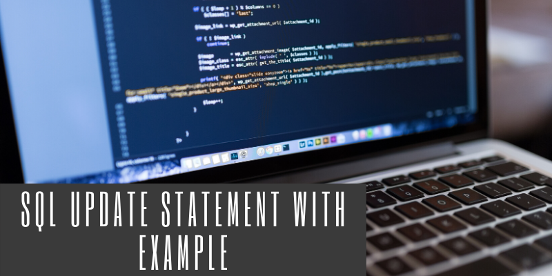 SQL Update statement with example